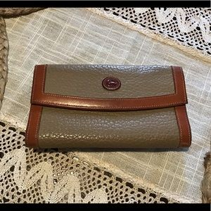Vintage Dooney & Bourke Wallet Checkbook fullsize